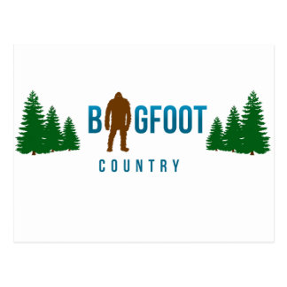 Bigfoot Country Post Cards