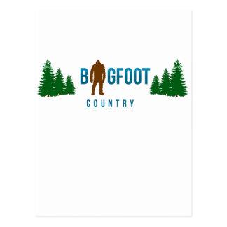 Bigfoot Country Postcard