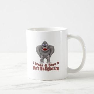 Bigfoot Crap Coffee Mug