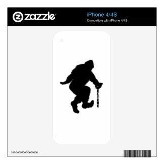 Bigfoot cree a BG iPhone 4S Calcomanía