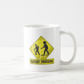 Bigfoot Crossing Coffee Mugs