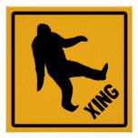Bigfoot Crossing Poster