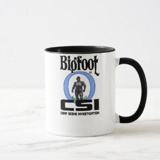 Bigfoot CSI Badge Coffee Mug