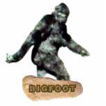 Bigfoot Cutout Magnet/Sculpture Standing Photo Sculpture