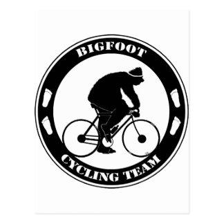 Bigfoot Cycling Team Postcard