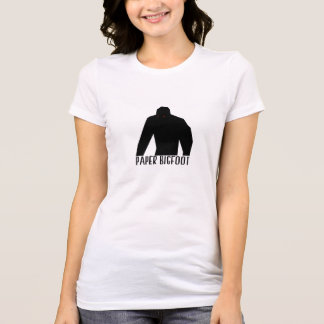 Bigfoot de papel camisetas