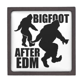 Bigfoot después de EDM Cajas De Joyas De Calidad