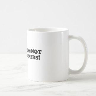 Bigfoot does NOT play Checkers - Basic Coffee Mug