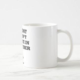 Bigfoot Doesn't Believe In You Coffee Mug