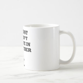 Bigfoot Doesn't Believe In You Mug