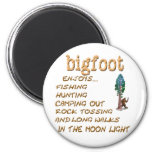 Bigfoot Doesn't Fridge Magnets