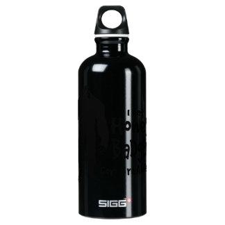 Bigfoot eats Honey Badgers for Breakfast SIGG Traveler 0.6L Water Bottle