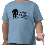 Bigfoot eats Honey Badgers for Breakfast T Shirt