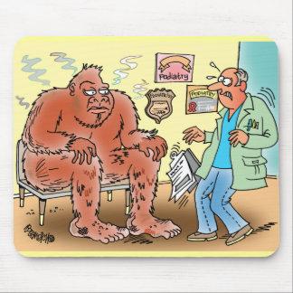 Bigfoot en el dibujo animado Mousepa de la sala de Tapete De Ratones