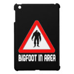 Bigfoot en muestra amonestadora del triángulo de l iPad mini protector