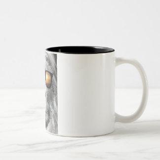 Bigfoot en sombras tazas de café
