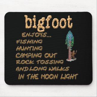 Bigfoot Enjoys Mousepads