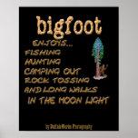 Bigfoot Enjoys Poster