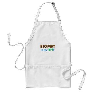 ¡Bigfoot es mi BFF mejor amigo para siempre Delantal