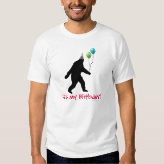 ¡Bigfoot es mi cumpleaños! Playeras