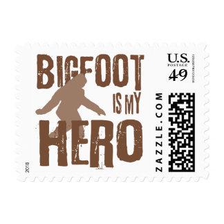 Bigfoot es mi héroe sello