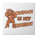Bigfoot es mi Homeboy Azulejo Cuadrado Pequeño