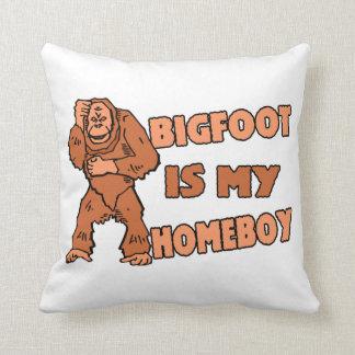 Bigfoot es mi Homeboy Cojin