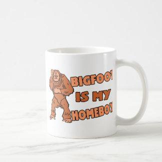 Bigfoot es mi Homeboy Taza