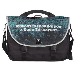 Bigfoot está buscando a un buen terapeuta - básico bolsas de portatil