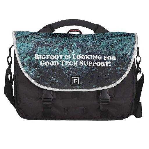 Bigfoot está mirando para el buen soporte técnico  bolsas para portátil