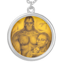 Bigfoot Family Necklaces