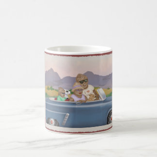 Bigfoot Family Sunday Drive Mug