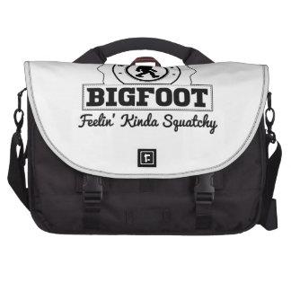 Bigfoot Feelin' Kinda Squatchy Bag For Laptop
