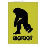 Bigfoot Felicitacion