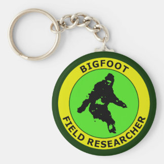 Bigfoot Field Researcher Keychain