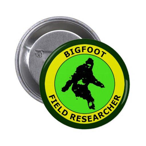 Bigfoot Field Researcher Pins