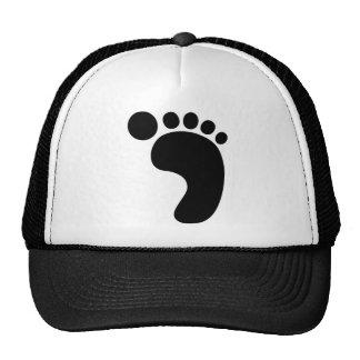 Bigfoot footprint Sasquatch Trucker Hat