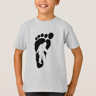 Bigfoot footprint T-Shirt