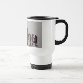 Bigfoot forest people-line up travel mug