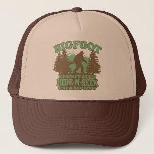 074b1999 BIGFOOT Funny Saying (vintage distressed design) Trucker Hat