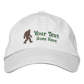 Bigfoot Gone Squatchin Customizable Embroidered Hat