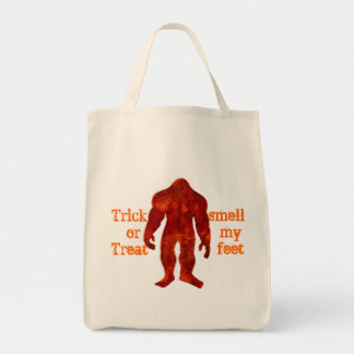 Bigfoot Halloween Tote Bag