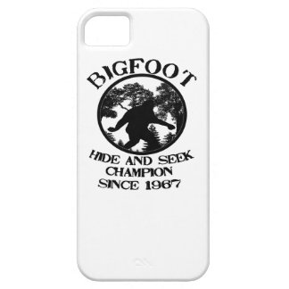 Bigfoot Hide and Seek Champion Since 1967 iPhone 5 Case