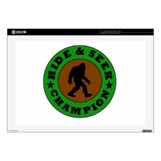 Bigfoot Hide And Seek Champion Laptop Skins