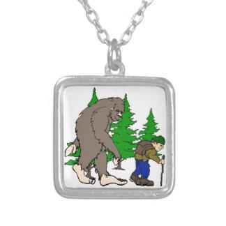 Bigfoot. hiker necklaces