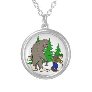 Bigfoot. hiker pendants