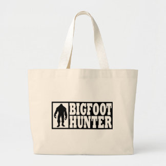 Bigfoot Hunter - Finding Bigfoot Large Tote Bag