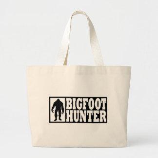 Bigfoot Hunter - Finding Bigfoot Large Tote Bag
