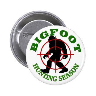 Bigfoot Hunting Season Button