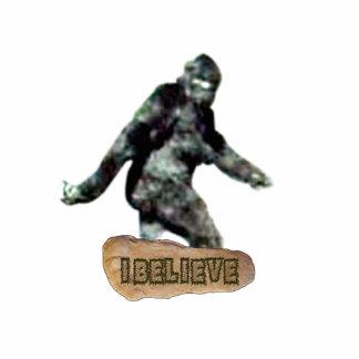 Bigfoot I Believe Cutout Photo Sculpture
